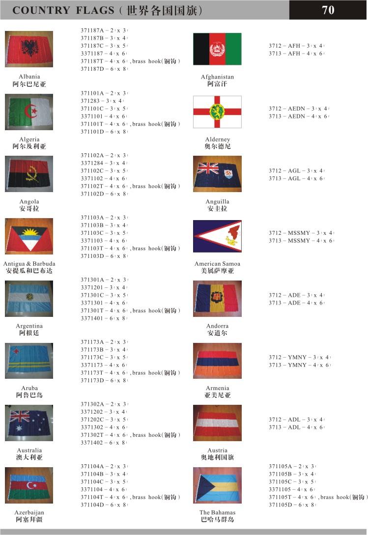 船用国旗,国际信号旗,商船旗,船舶旗帜,桌旗,定制旗