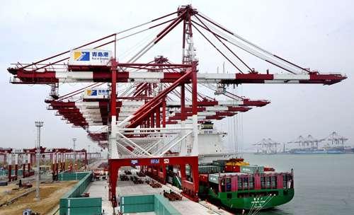 3期集装箱码头,青岛港前湾集装箱码头有限公司(qqct)已拥有长达6080米