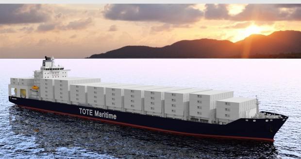 第一艘LNG动力集装箱船