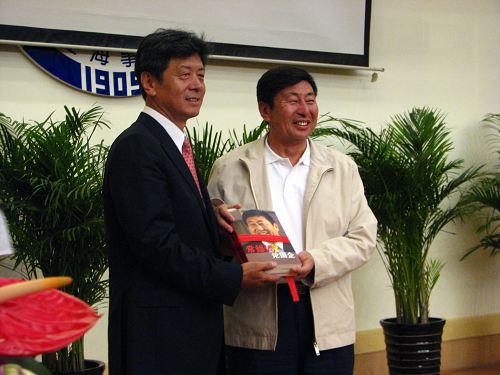 """青岛港集团总裁常德传——百年校庆""""桃李芬芳""""专场报告"""