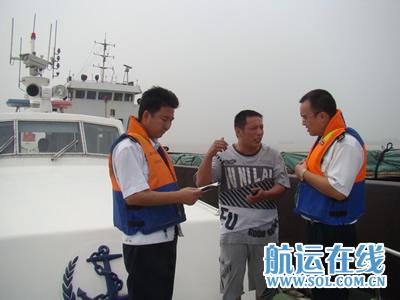 航运在线9月1日讯(范娟  王平)芜湖海事局港区海事处滨江执法大队