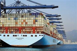 全球最大集装箱船
