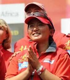 宋坤 中国/宋坤成中国首位完成帆船赛事环球航行的女水手...