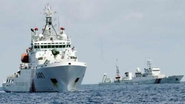 菲媒:中国海警船撞坏3艘菲渔船