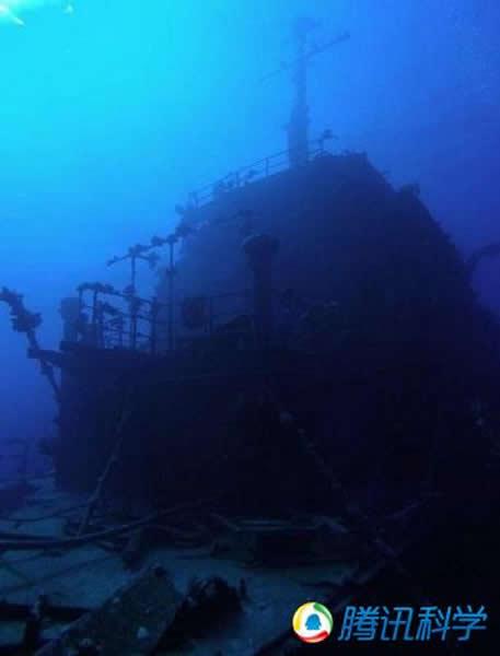 埃及红海的俄罗斯沉船