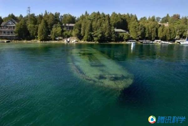 安大略湖的沉船