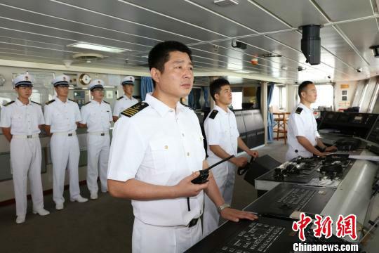 """大连海事大学""""育鲲""""轮完成出访任务从印尼返航"""